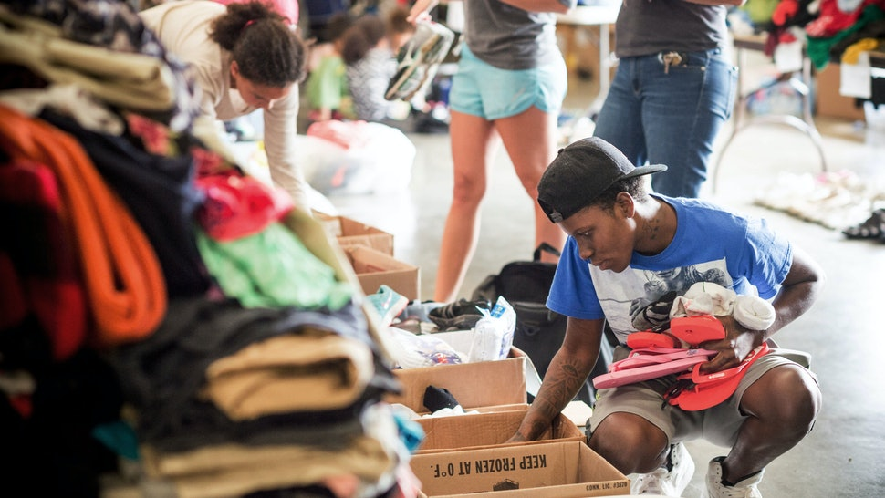 How To Donate Clothes To Hurricane Harvey Victims Along With Other