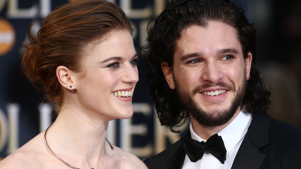 Are Kit Harington Rose Leslie Married The Game Of Thrones