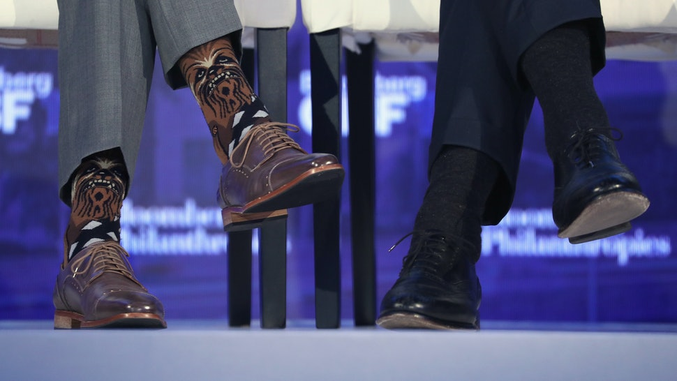 9fc124d7 Where To Buy Justin Trudeau's Chewbacca Socks, Because The Canadian PM Has  Some Serious Sock Game