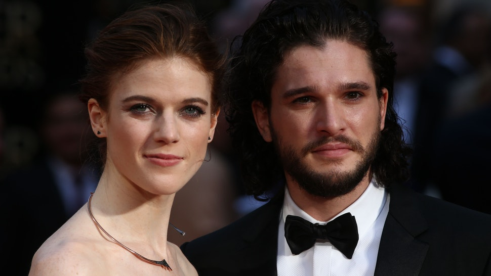 How Did Kit Harington Rose Leslie Meet The Game Of Thrones