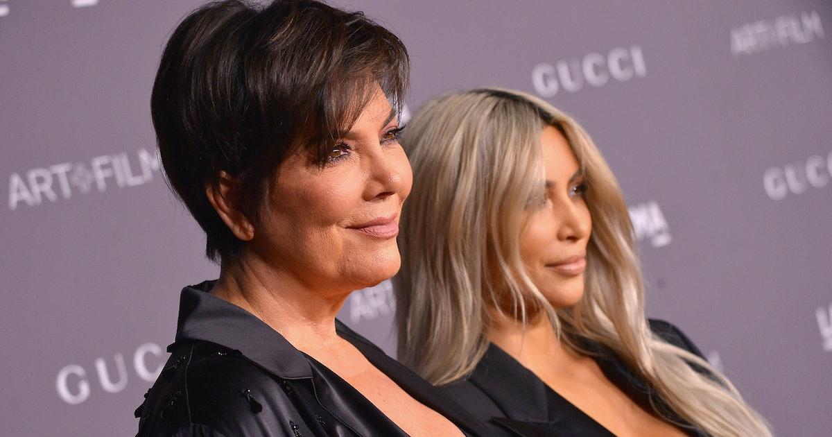Kris Jenner Memes About Kim Kardashian's Baby Are Hilarious & Spot-On