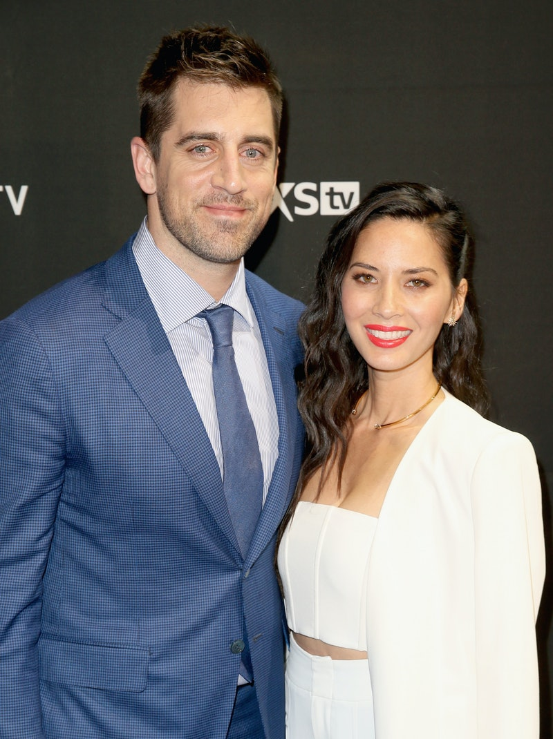 When Did Aaron Rodgers Olivia Munn Break Up Long Enough Ago That He S Dating Danica Patrick