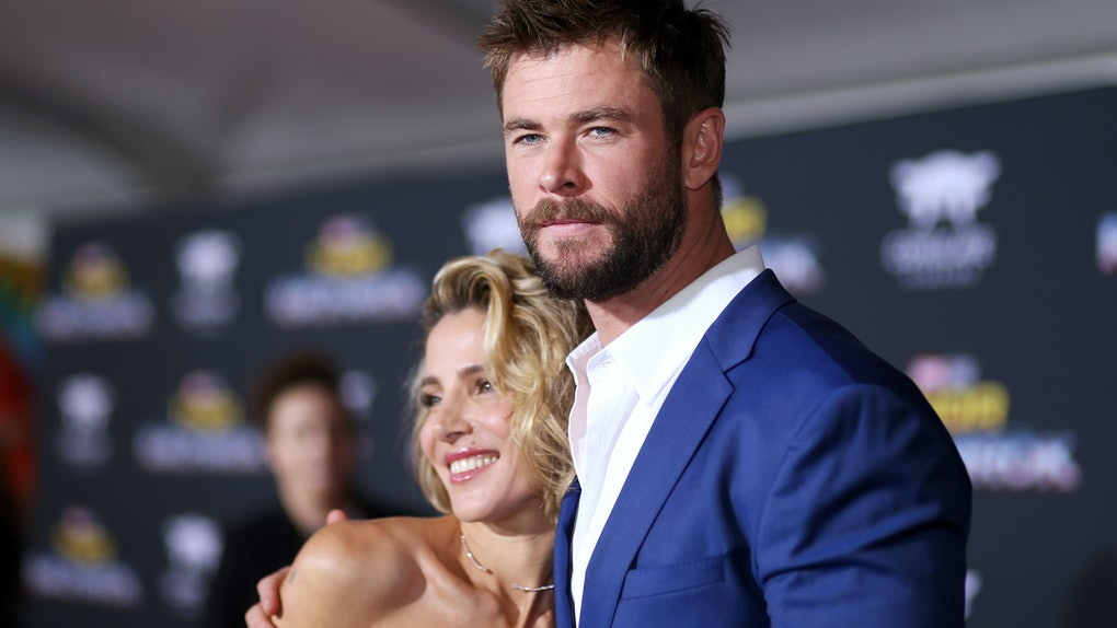 who is chris hemsworth wife