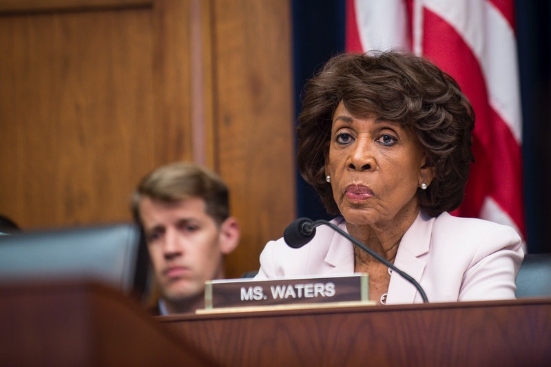 Maxine waters response to the sotu on bet bts meaning in betting what is a money