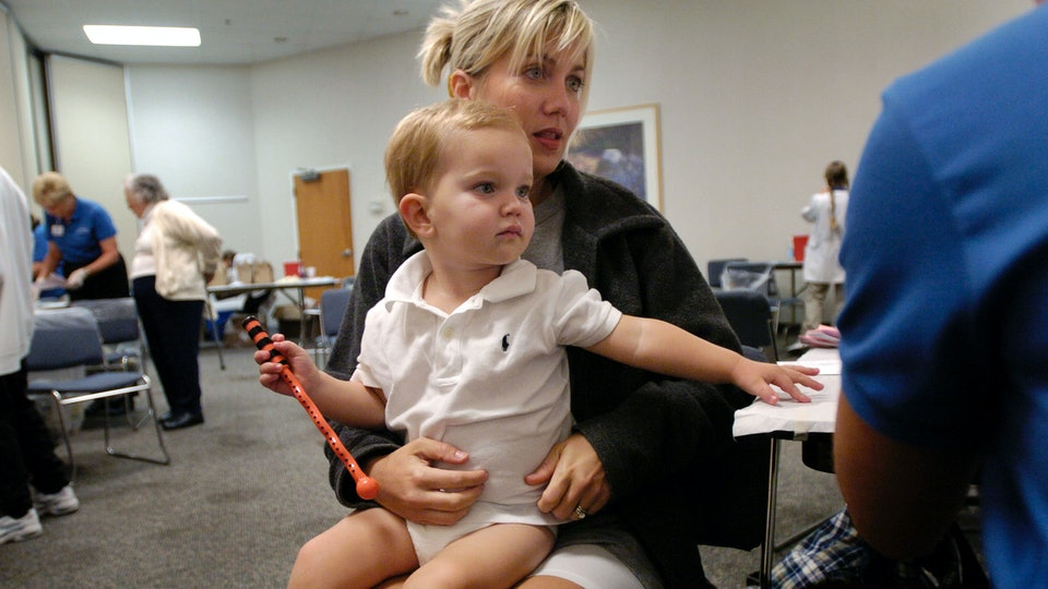 what age can get flu vaccine