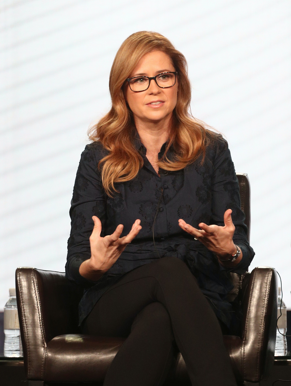 86d331634e656 Will Pam Be In 'The Office' Revival Series? Jenna Fischer Still Loves Her  Dunder Mifflin Character