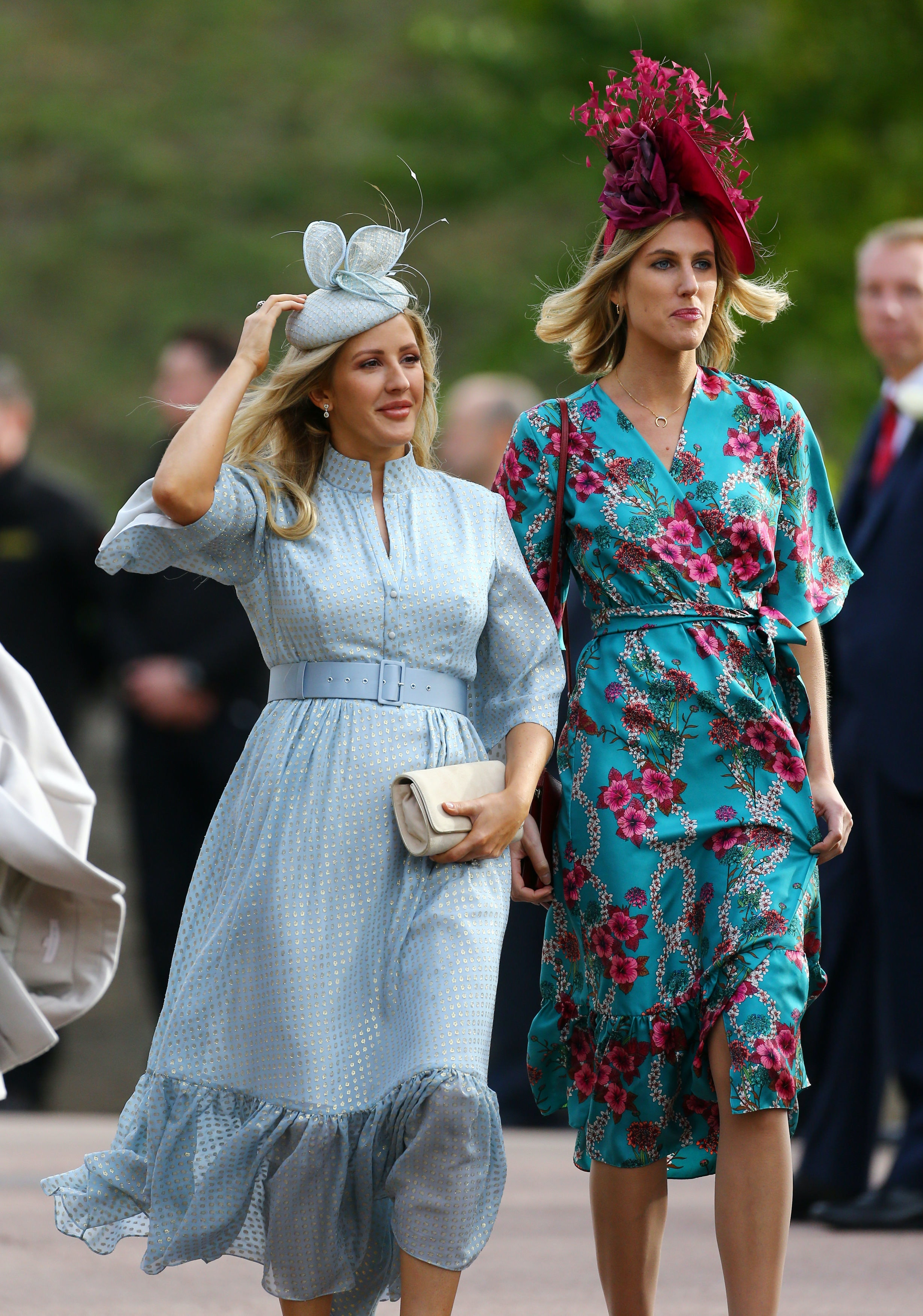 Ellie Goulding S Outfit At Princess Eugenie S Wedding Was So