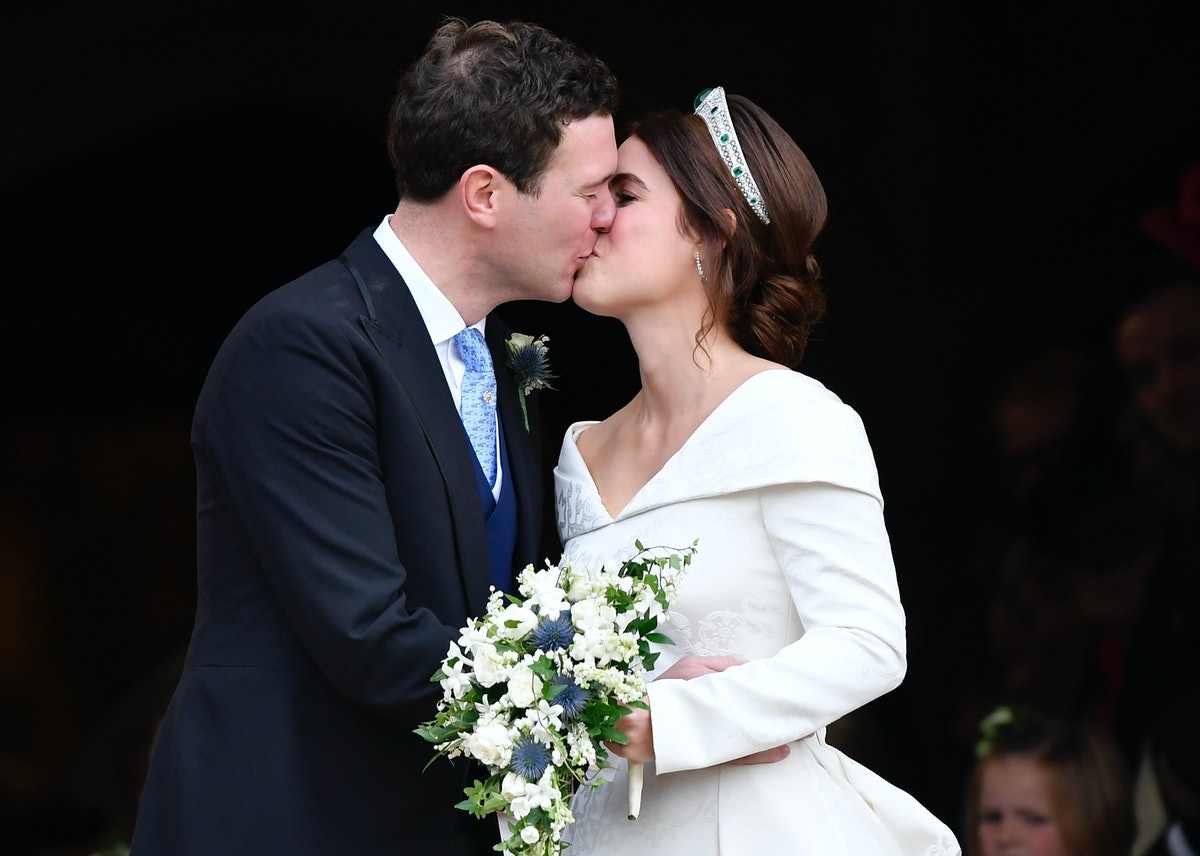 The Reason Princess Eugenie Wore An Open-Back Wedding Dress Is Much More Meaningful Than You Think