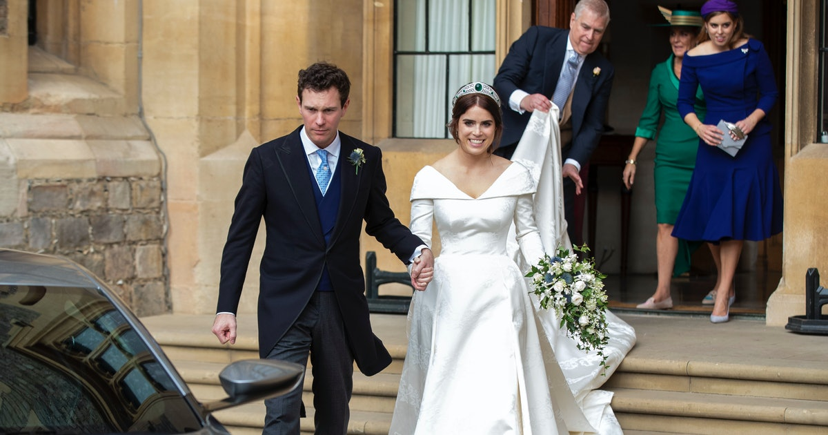 This Photo Of Princess Eugenie\'s Second Wedding Dress Is As ...