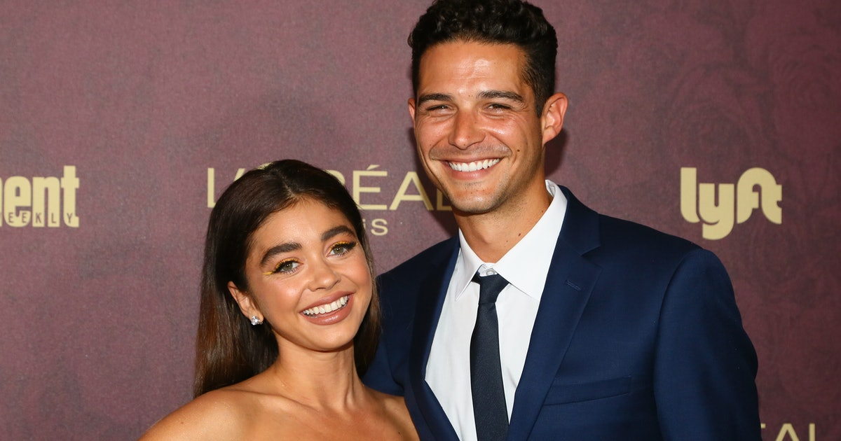 Sarah Hyland & Wells Adams Are Celebrating Yet Another Anniversary, But It�...