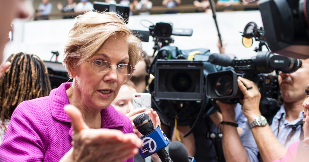 The Charity Elizabeth Warren Wants Donald Trump To Donate To Helps Protect Nativ...