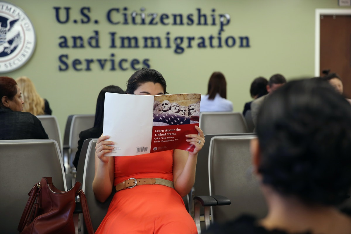 This Poll On U.S. Citizenship Test Questions Suggests Less Than Half Of Americans Would Pass