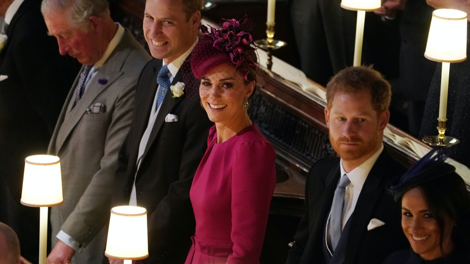 f74be5e5014 Kate Middleton Watching Prince George   Princess Charlotte Fulfill Their Royal  Wedding Duties Is Every Proud Mom — VIDEO