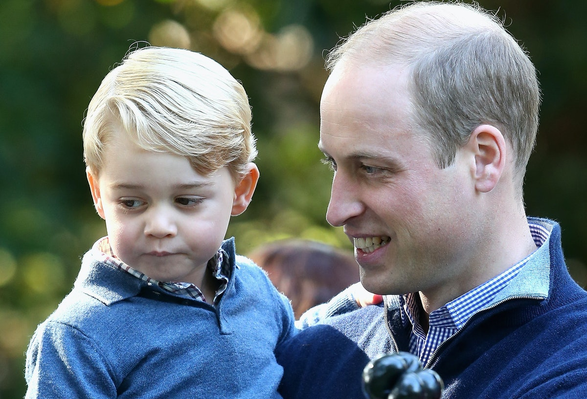 Prince George Takes After Princess Diana In The Sweetest Way, According To His Dad