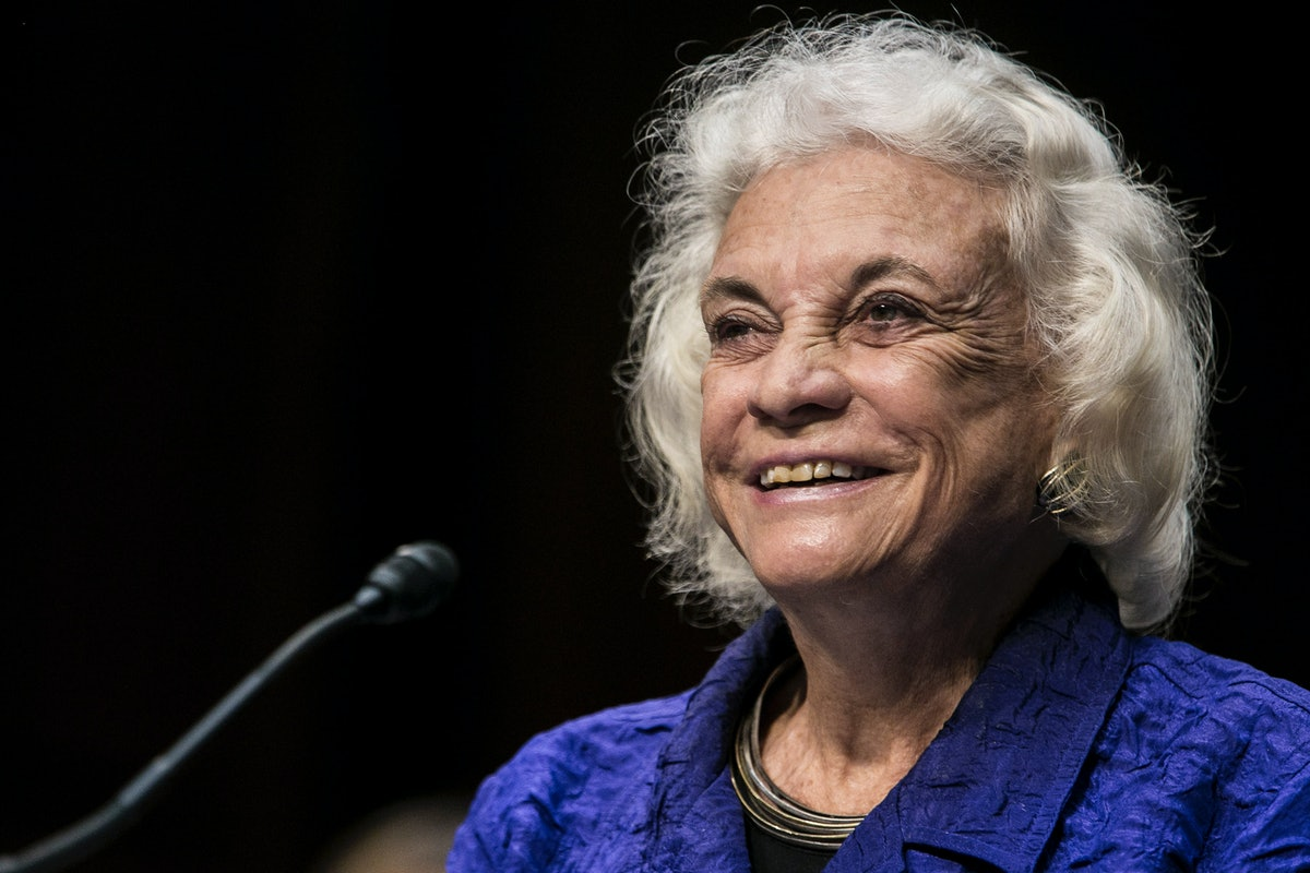 Sandra Day O'Connor Announces Her Dementia Diagnosis With A Stirring Message
