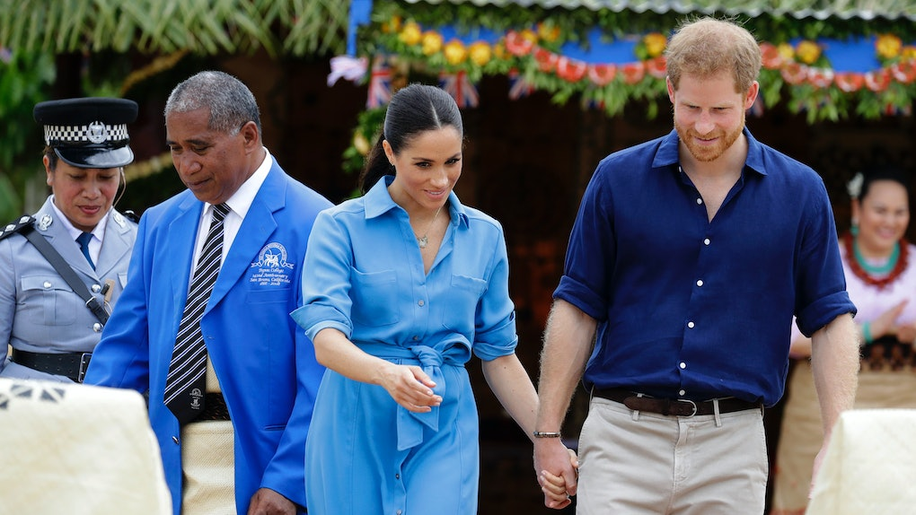 ff2188de491a9 11 Photos Of Prince Harry & Meghan Markle In Color-Coordinating Outfits,  You're Welcome