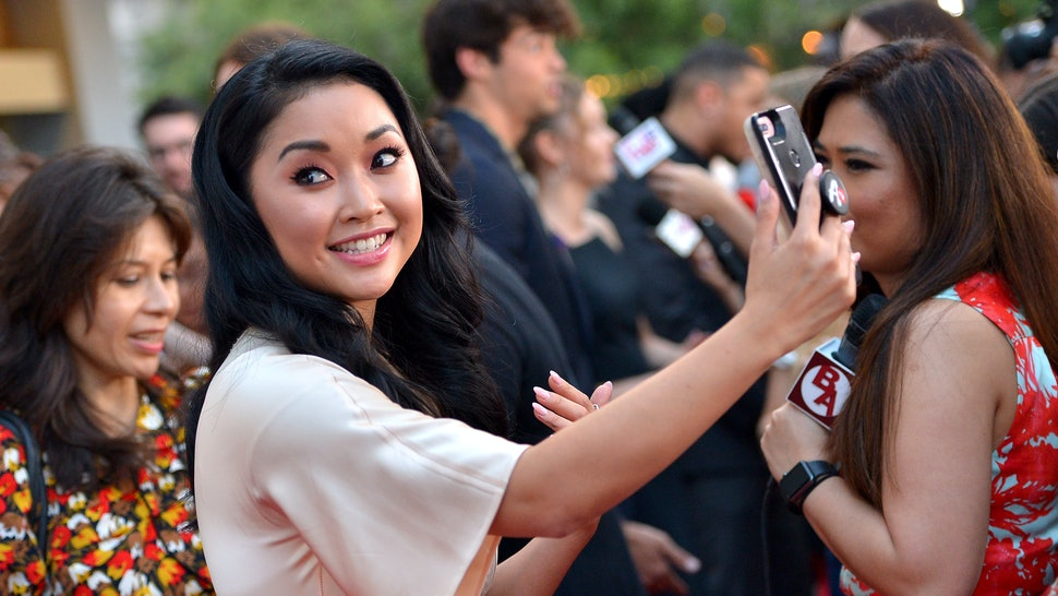 By the end of the movie, Lara Jean and Peter are happily together..
