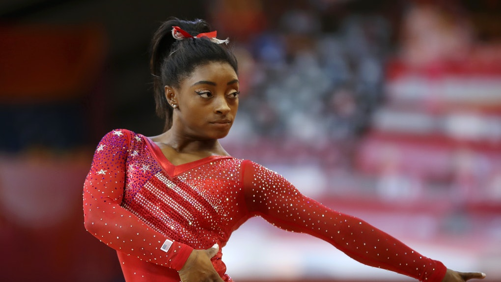 Simone Biles' Kidney Stone At The 2018 World Gymnastics Championships  Didn't Stop Her From Slaying