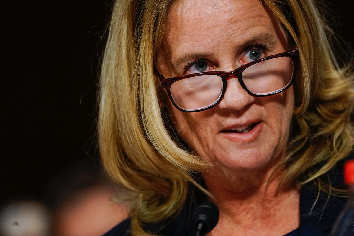 How To Send Letters To Christine Blasey Ford To Thank Her For Coming Forward