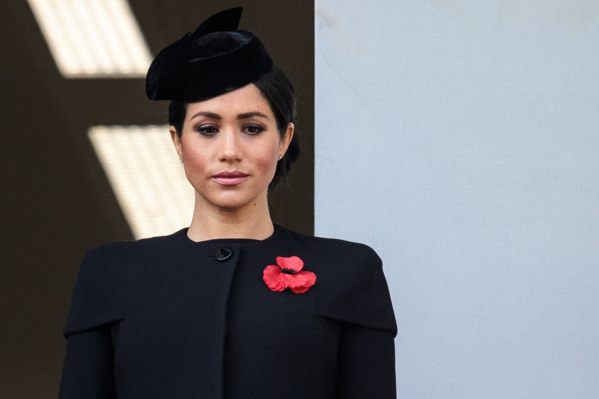 Why Did Meghan Markle Not Stand With The Royal Family On Remembrance Day? There's A Simple Explanation