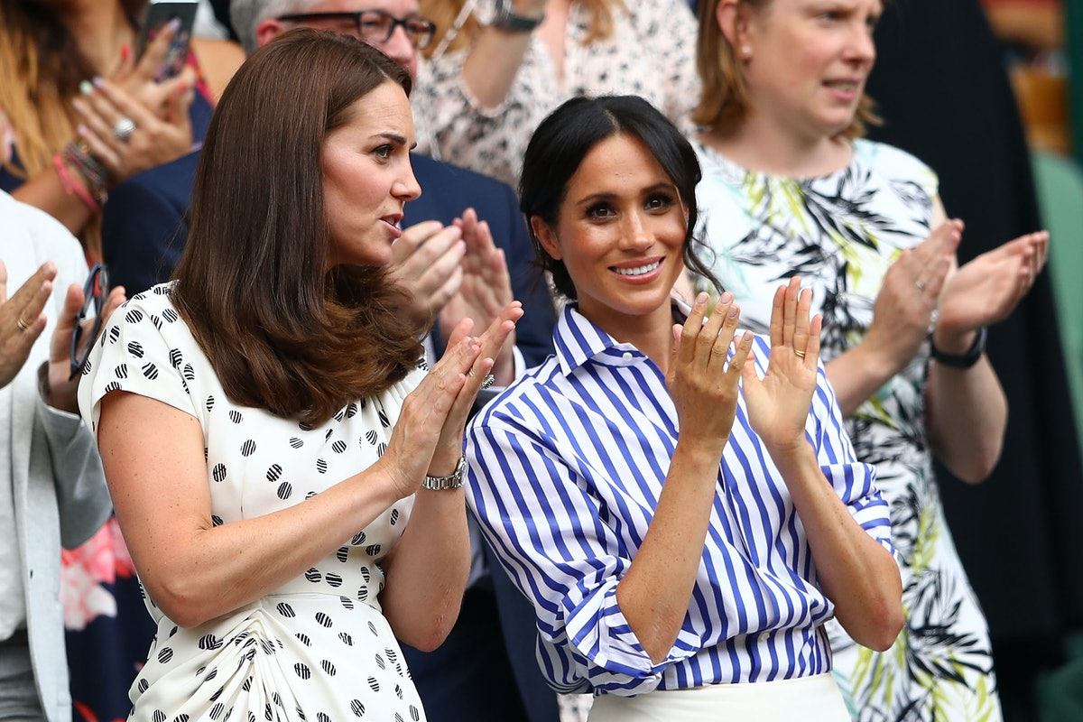 Meghan Markle & Kate Middleton Wore Matching Looks At Prince Charles' 70th Birthday Celebration