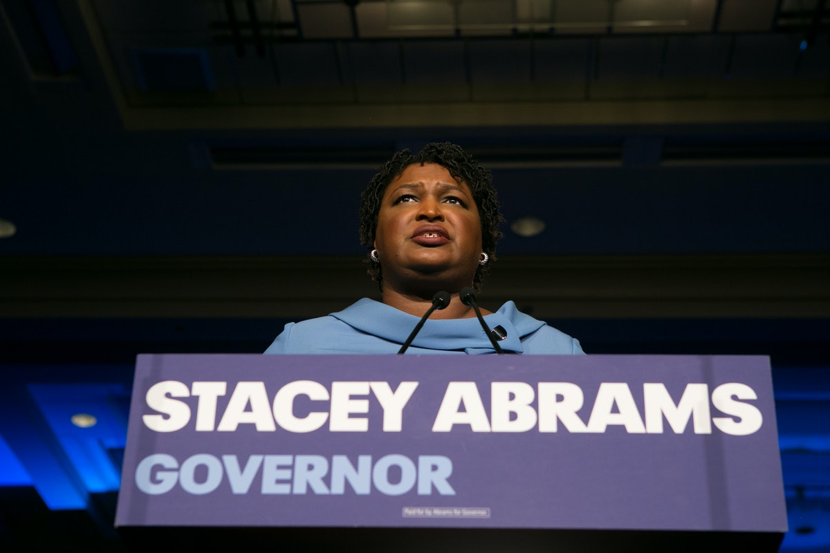 Stacey Abrams Blasted Voter Suppression In A Speech Ending Her Bid For Georgia Governor