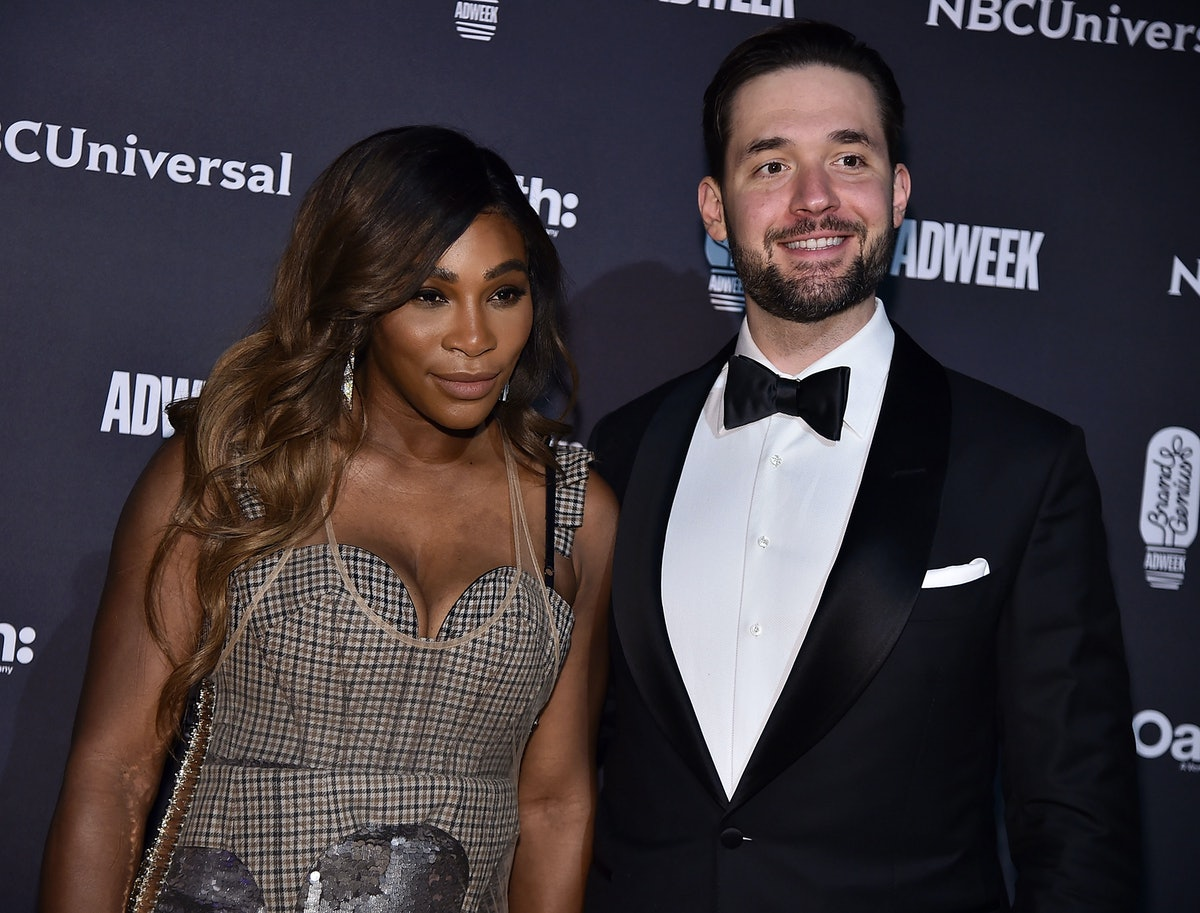 Alexis Ohanian's Anniversary Tribute To Serena Williams Includes A Nod To Their Daughter — PHOTO