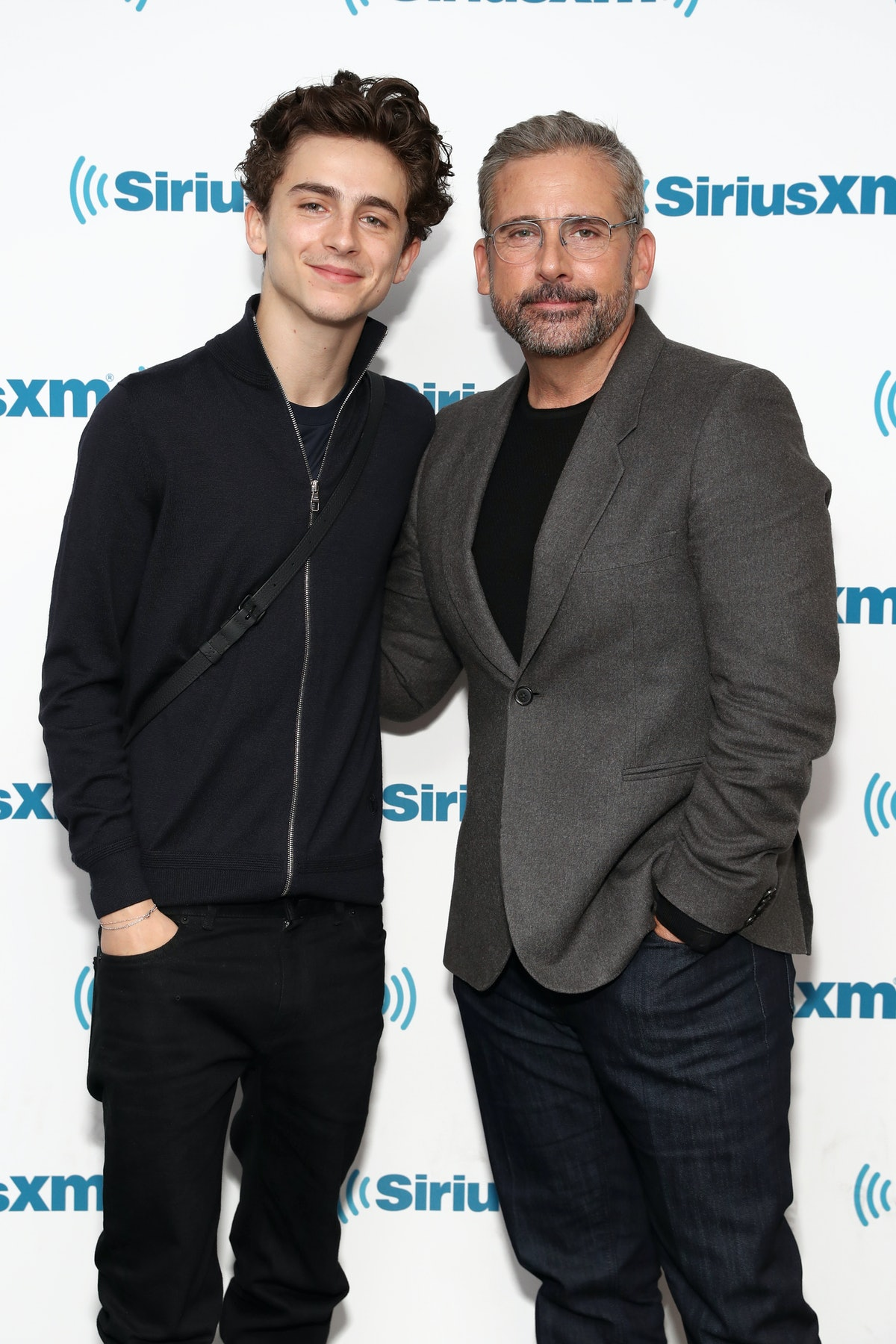 Timothee Chalamet's Steve Carrell Comments Show He's 'The Office' Actor's Biggest Fan — VIDEO