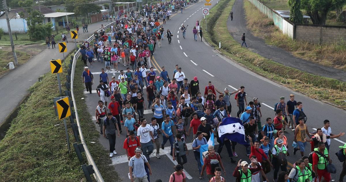 Updates On The Migrant Caravan Show Tensions Are Escalating In Tijuana