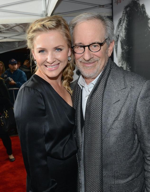 Steven Spielberg is Jessica Capshaw's stepdad.