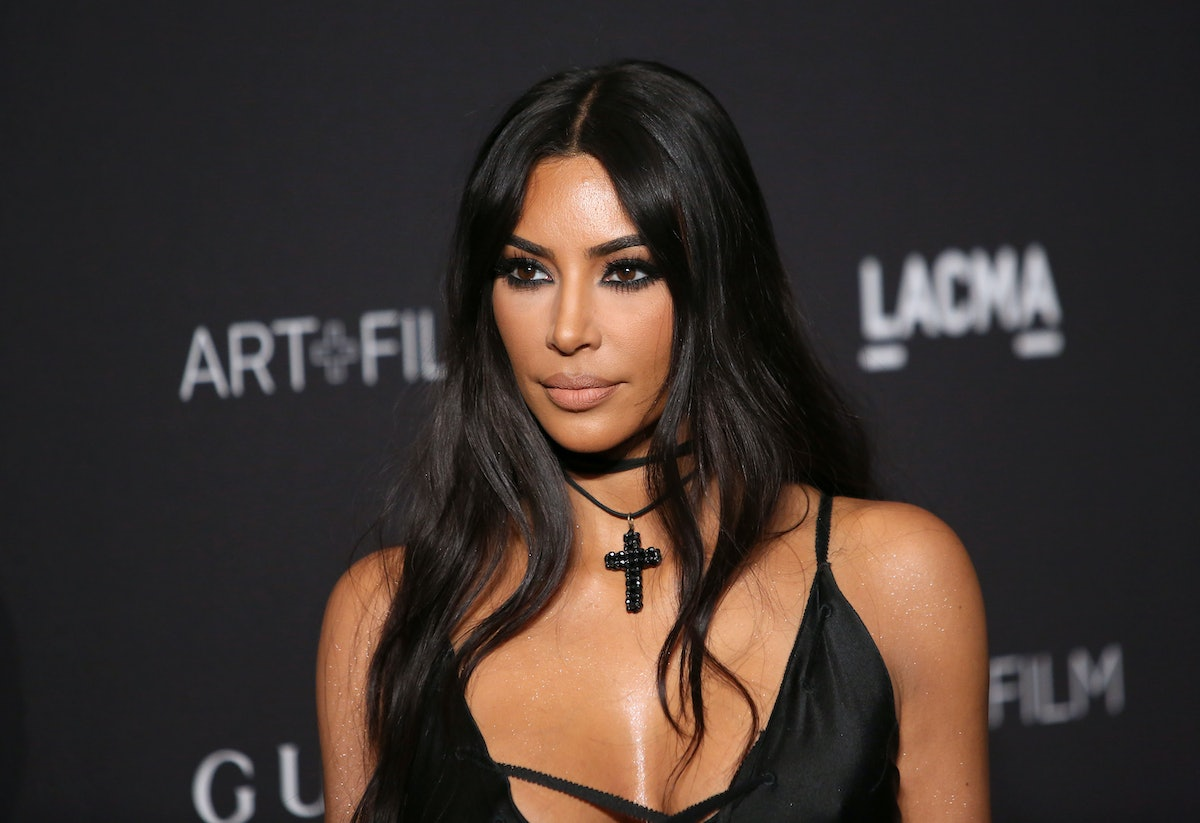 Kim Kardashian's New Saint Photo Includes A Message About Making Your Voice Heard