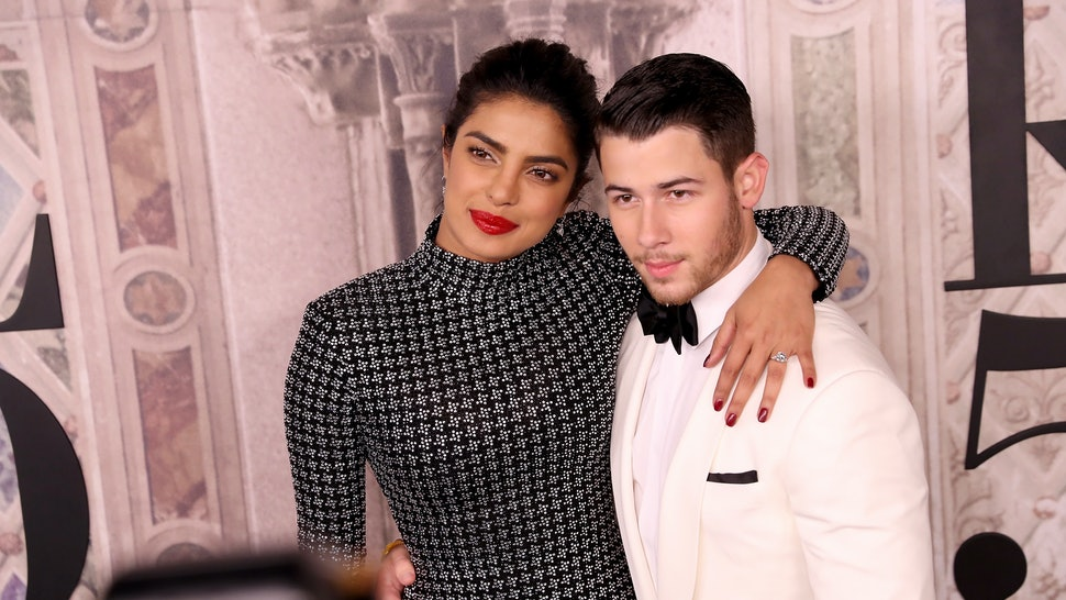Nick Jonas New Wedding Photo Shows Off His Priyanka Chopra S