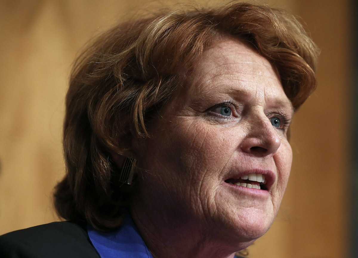 Heidi Heitkamp's Farewell Speech In The Senate Made Clear She's Not Done Fighting