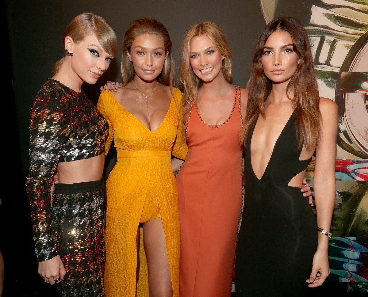 Gigi Hadid's Birthday Message To Taylor Swift Even Includes Olivia The Cat — PHOTO
