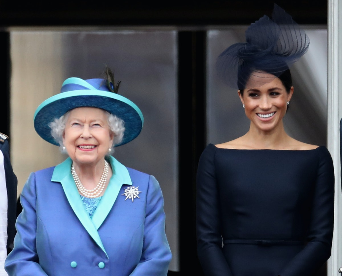 "Queen Elizabeth Won't Be Calling Meghan Markle ""Pregnant"" For This Bizarre Reason"