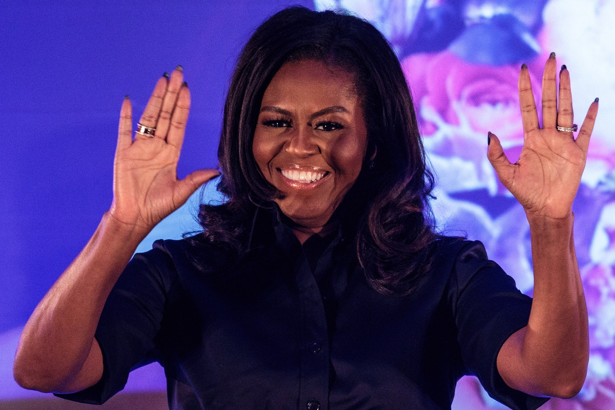 Video Of Michelle Obama Dancing At A Denver Children's Hospital With Santa Will Make Your Day