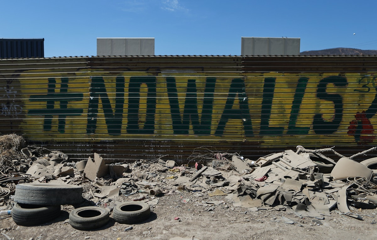 Has Construction On The Wall Actually Begun? Trump's Made Some Misleading Claims