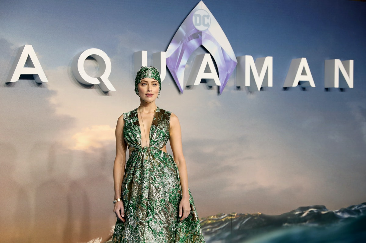 Why 'Aquaman' Star Amber Heard Hates It When You Pit Mera Against Wonder Woman