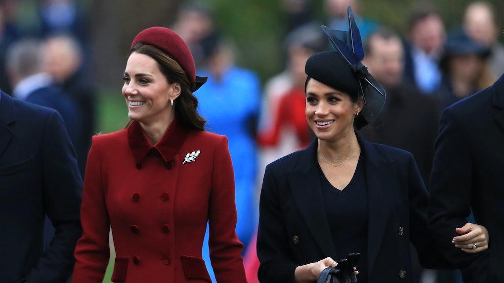Meghan Markle Christmas.This Video Of Meghan Markle Kate Middleton Walking