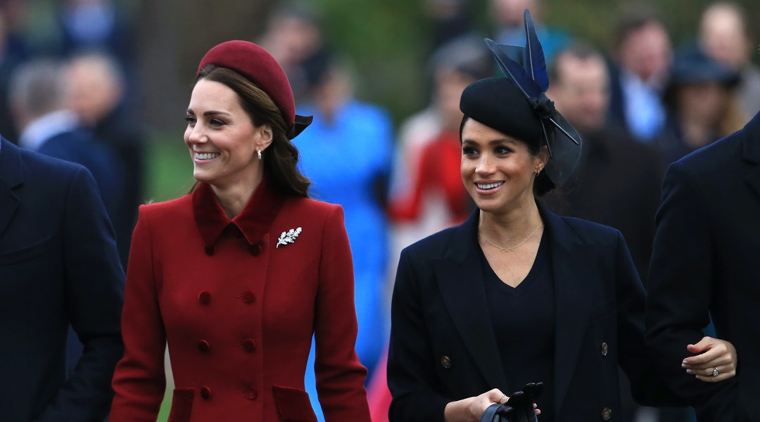 997c277f91ec Meghan Markle's Christmas Outfit Looked So Different Than Kate Middleton's