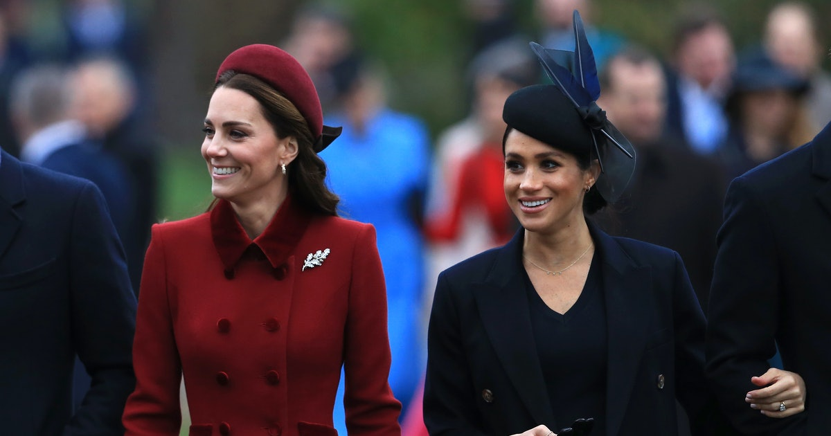 Meghan Markle & Kate Middleton Dressed So Differently For Christmas