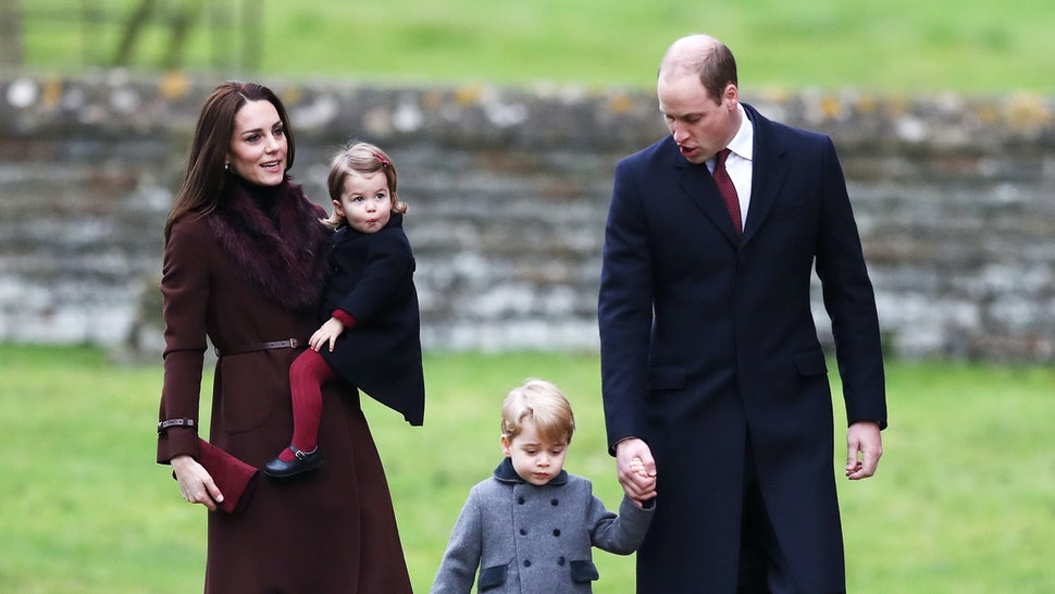 A Christmas Princess.Prince George Princess Charlotte Broke A Christmas