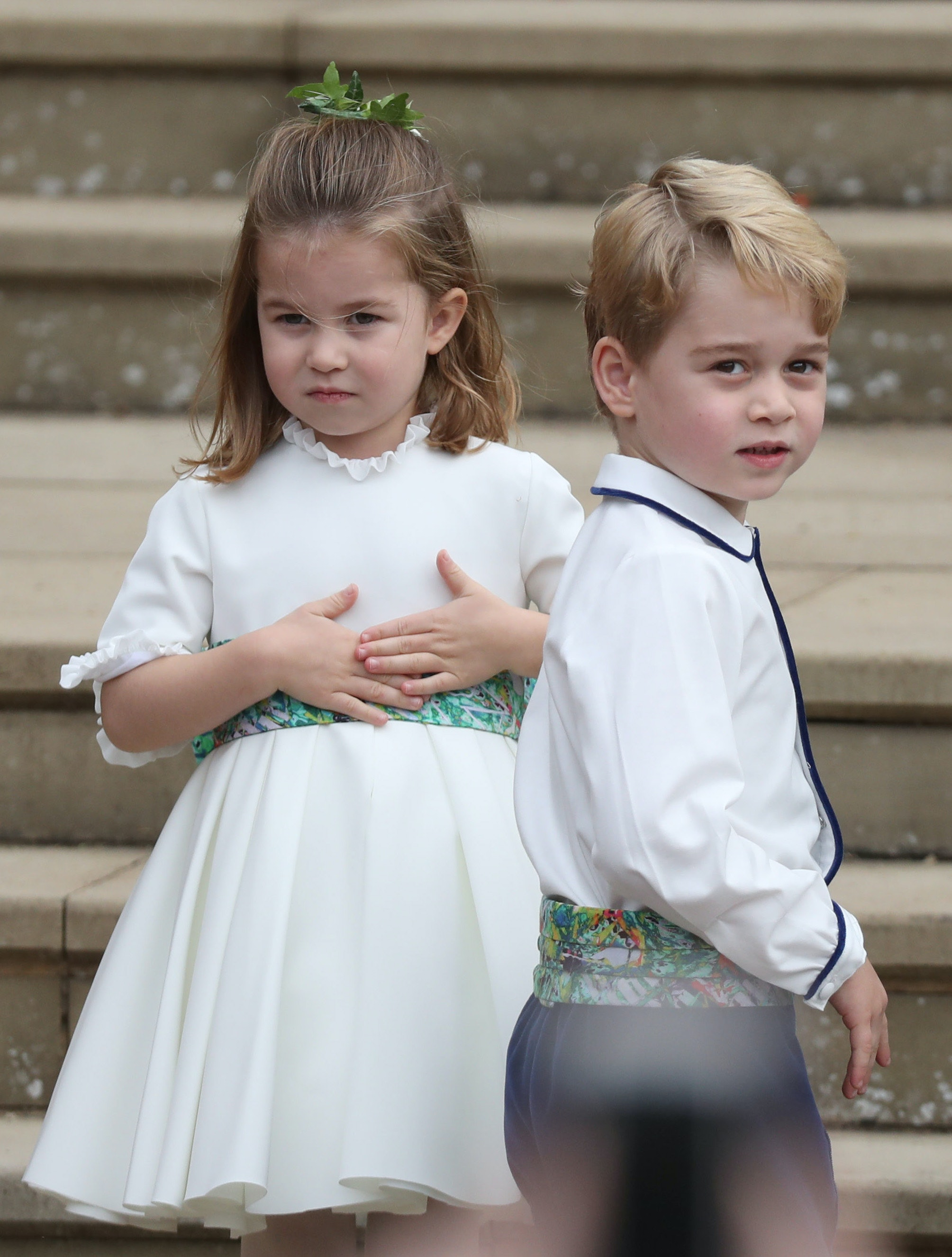 Prince George & Princess Charlotte Are Decorating Their Own ...