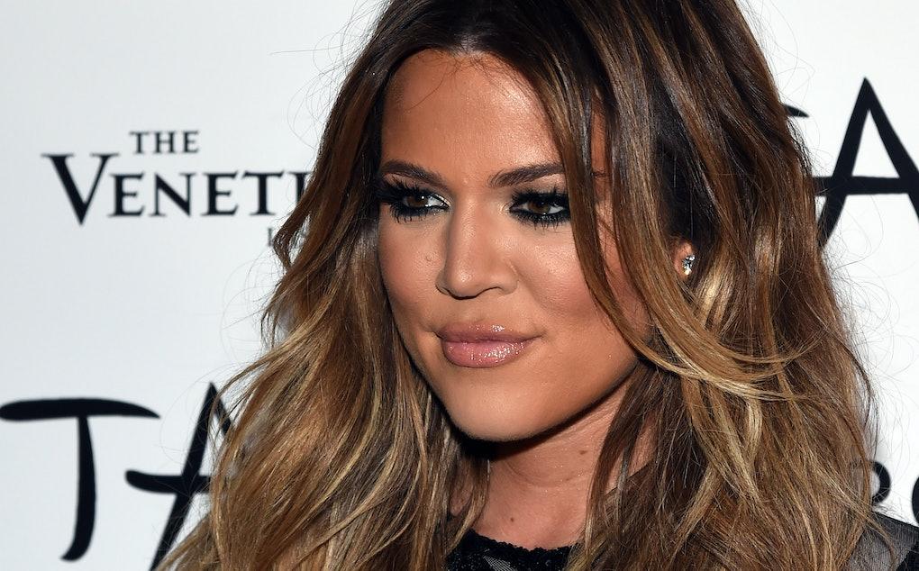Khloe Kardashian S New Platinum Blonde Hair Solidifies Winter White