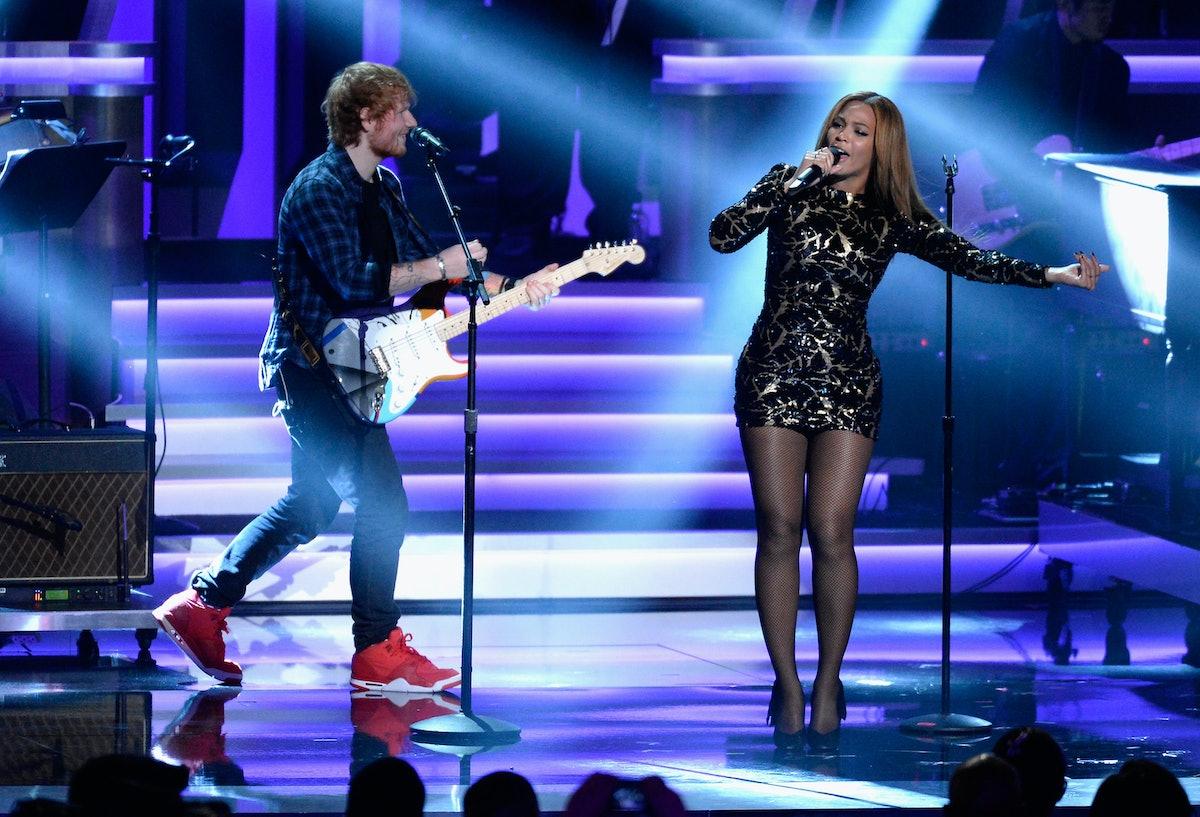 Ed Sheeran Broke His Silence On That Photo Of Him Wearing A T-Shirt With Beyoncé