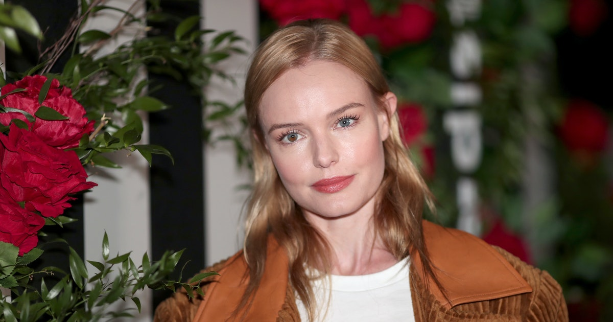 Kate Bosworth's Red Jumpsuit Is A Glimpse Of Summer's Emerging Monochrome Trend