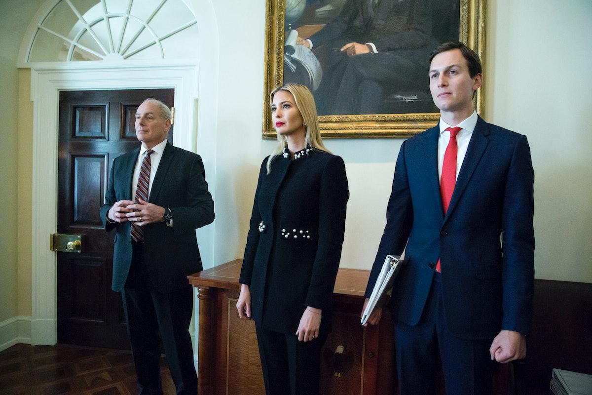 Jared Kushner & Ivanka Trump Potentially Influenced John Kelly's Departure, Report Says