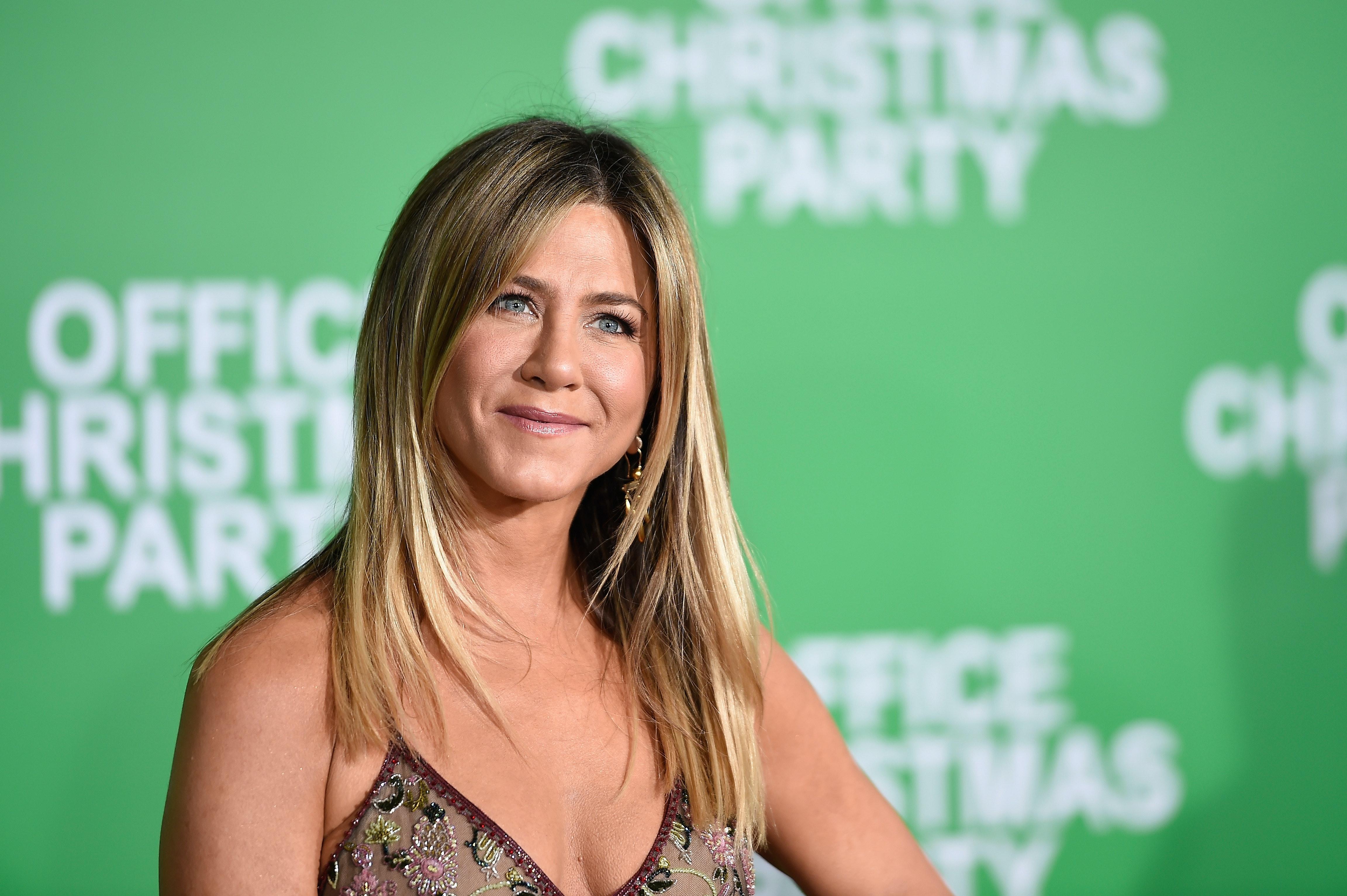 Jennifer Aniston's Birthday Celebration Had A Mini 'Friends