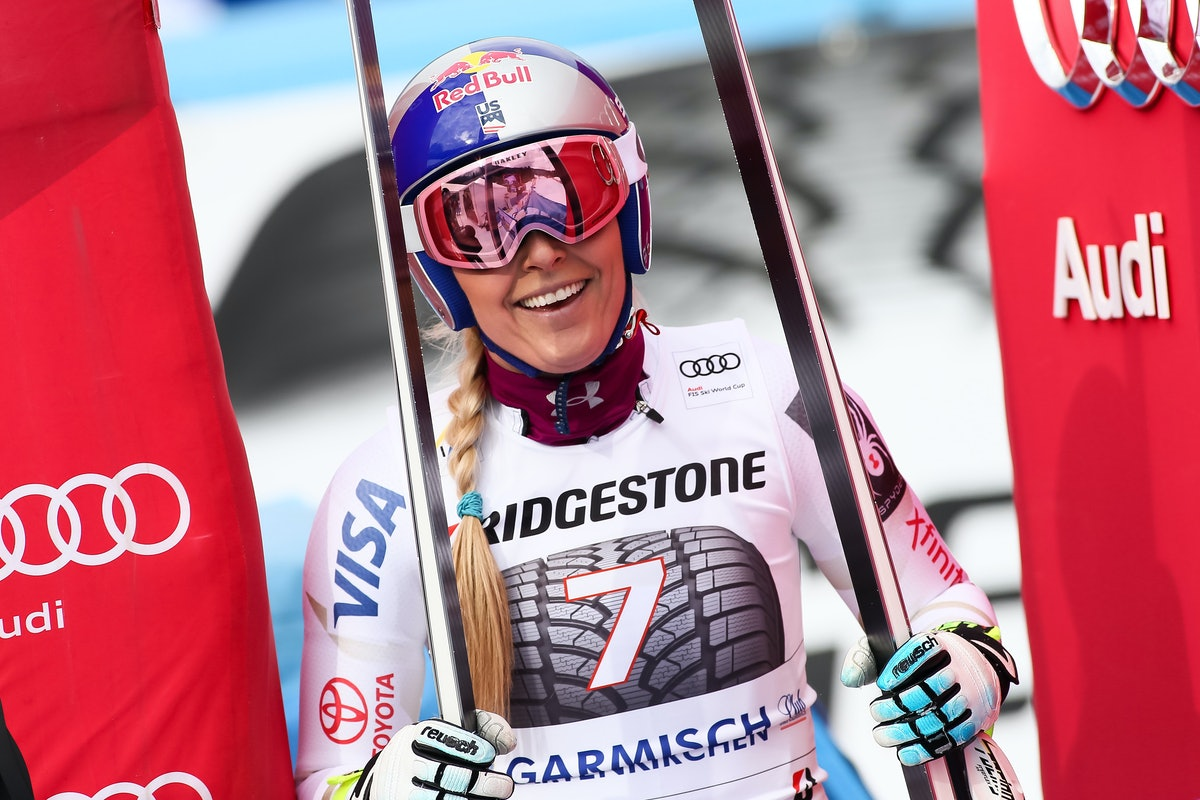 Lindsey Vonn's Ab Workout Helps Her Prepare For The Olympics & It's Actually So Easy