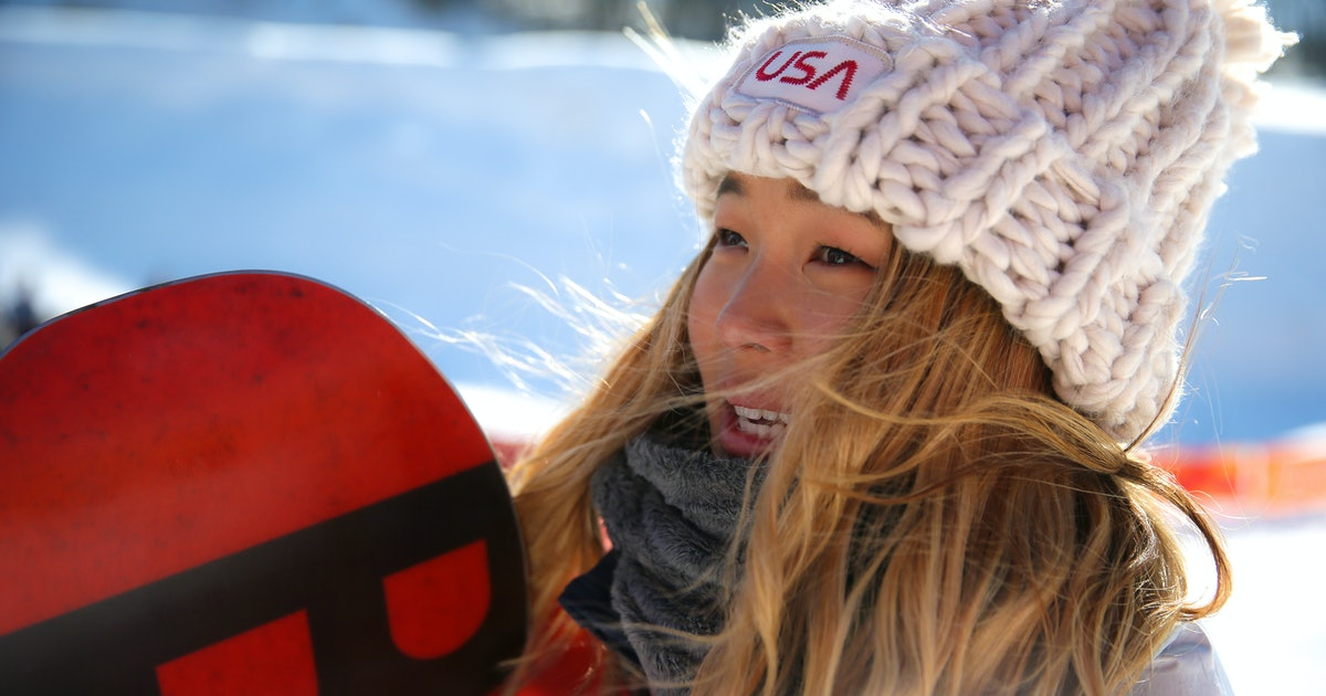 2827a4241f47a Can You Buy Chloe Kim s Team USA Hat  The Chunky Knit Beanie Is Taking Over  Twitter